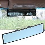 Specchietto retrovisore universale per auto, specchio blu antiabbagliante, previene i riflessi e l'abbagliamento, espande la visuale, infrangibile al 100%, prodotto premium per la sicurezza, adatto alla maggior parte delle auto