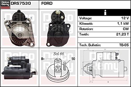 DELCO REMY DRS7530 Motorino d'avviamento