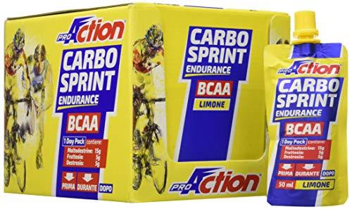 Carbo sprint bcaa 50 ml (limone) - confezione da 32 pezzi da 50 ml