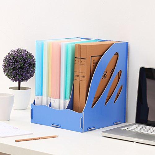 Neue art Multifunktions A4 Dokument regal Größe 26 * 27 * 32 cm holz aktenschrank, empfang storage cabint, kategorie rack, aufbewahrungsbox. (Farbe : C)