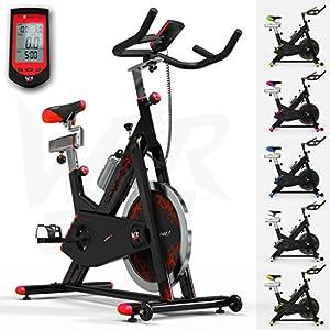 51rhZUjJlhL. SS300  - We R Sports RevXtreme Indoor Aerobic Exercise Bike/Cycle Fitness Cardio Workout Machine - 22KG Flywheel