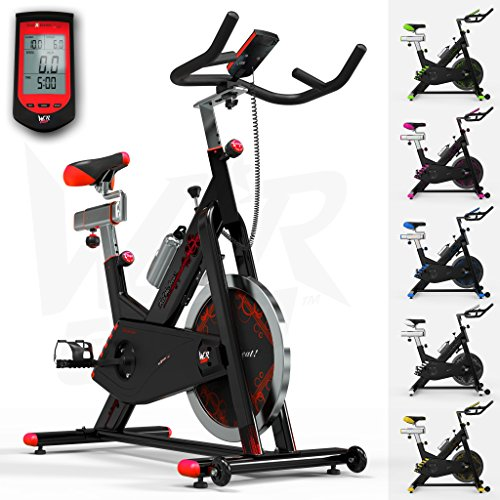 51rhZUjJlhL. SS500  - We R Sports RevXtreme Indoor Aerobic Exercise Bike/Cycle Fitness Cardio Workout Machine - 22KG Flywheel