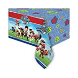 Paw Patrol Party Plastic Tablecover (1.8m x 1.2m)