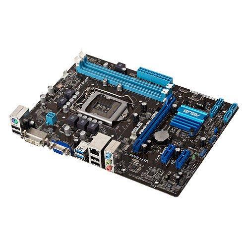 Asus P8H61-MX USB3 Mainboard Sockel 1155 (micro ATX, Intel H61, DDR3 Speicher, SATA II)