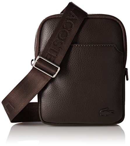Lacoste Men's Gael Top-handle Bag brown Size: One Size