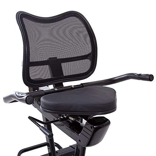 Sitzergometer + Rückenlehne: Sitz Heimtrainer Bild 4*