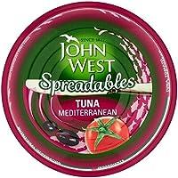 John West Untables Atún Mediterráneo 80g (Paquete de 6)
