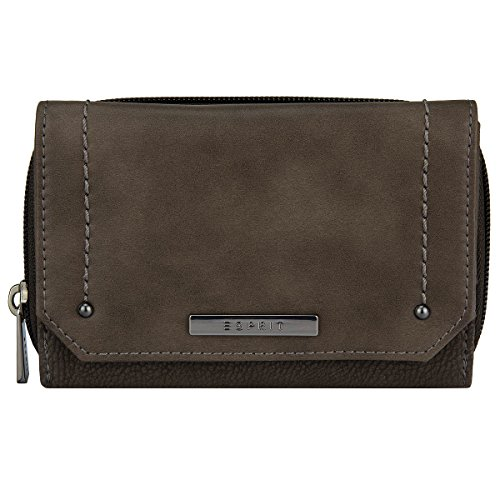 ESPRIT 116ea1v001, Portafogli Donna, 1x9x14 cm (B x H x T) Marrón (240 TAUPE)