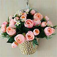 Emulation rose fiore a parete per il