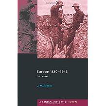 Europe 1880-1945