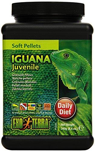 Exo Terra Soft Pellets Juvenile Iguana Food, 240 g 1
