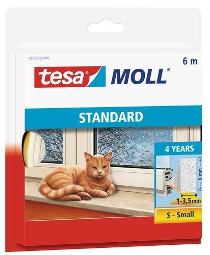 tesa-brown-standard-i-profile-foam-sealing-insulation-l-x-w-x-h-6-x-9-x-4-m-by-tesa-uk