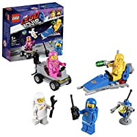 LEGO 70841 Movie 2 with Benny, Lenny, Jenny and Kenny Minifigures, Small Spaceship and Lunar Buggy Building Set