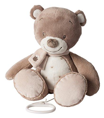 Nattou Spieluhr, Mädchen und Jungen, 28 cm, beige - Tom der Bär