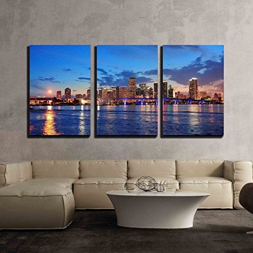 wall26-3 Panel Leinwand Wand Art -