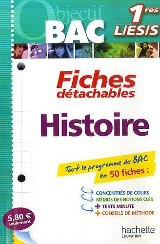 Histoire Bac 1res L/ES/S par Régis Bénichi, Guy Varenne
