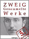 Stefan Zweig - Gesammelte Werke: Die Ungeduld des Herzens, Schachnovelle, Brennendes Geheimnis, Marie Antoinette, Der Amokläufer, Maria Stuart, Sternstunden ... u.a. (Gesammelte Werke bei Null Papier 4)