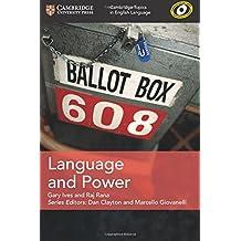 Language and Power (Cambridge Topics in English Language)