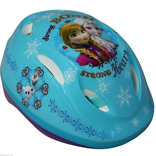 Disney Frozen Fahrradhelm Helm Sicherheitshelm Schutzhelm Eiskönigin Anna & Elsa 561