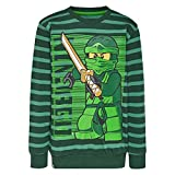 LEGO Wear Jungen Lego Ninjago M-72647-Sweatshirt, Grün (Green 890), 104