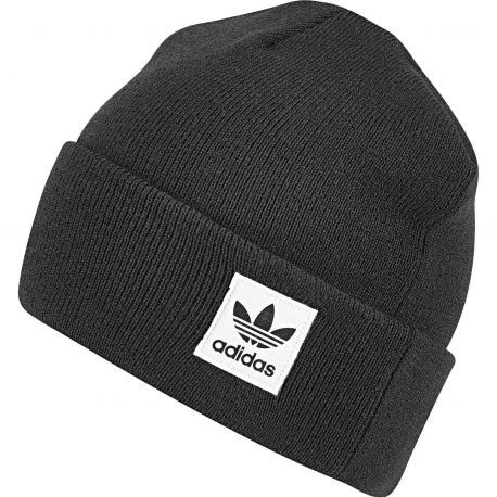 adidas Hoher Beanie Mütze , schwarz (Black/Negro) , OSFT