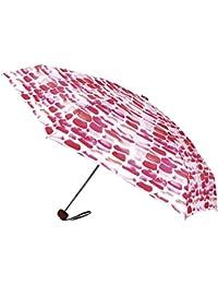 Paraguas Vogue ultramini, antiviento y Acabado teflón. Cerrado Mide sólo 18 cm. Práctico