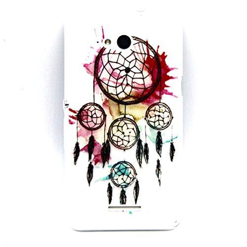 Sony Xperia E4G Hülle,BONROY® Muster TPU Case SchutzHülle Silikon Case Tasche Weiches Transparentes Silikon Schutzhülle Malerei Muster Ultradünnen Kratzfeste Tasche Schutzhülle Hülle Case Cover Etui TPU Bumper Schale für Sony Xperia E4G