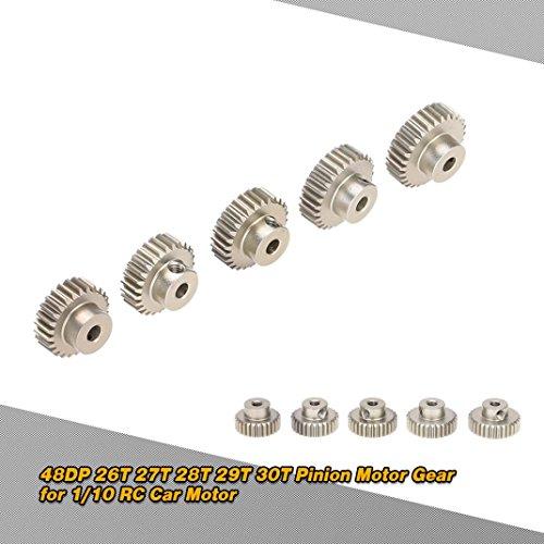28t Getriebe (MMLC GoolRC 48DP 26 T 27 T 28 T 29 T 30 T Ritzel Motor Getriebe (a))