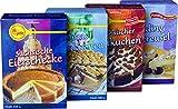 Geha Mühlen Backmischungen (Zupfkuchen, Eierschecke, Pudding Streusel, Omas Mohnkuchen)