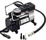 Auto Luftpumpe, Teetox 100 PSI Luft Kompressor 12V DC tragbare Reifen Inflator mit Zigarettenstecker für Autos, Fahrräder und Bälle
