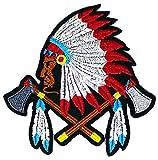 American Feder Axt Kreuz Kid Kinder Hippie Retro Biker Jacket T-shirt Vest Patch Sew Iron on gesticktes Badge Custom