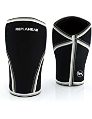 KNEE SLEEVES 2.0 (1 Paar, 7mm) – Die Kniebandagen für Crossfit, Fitness, Krafttraining, Gewichtheben, Bodybuilding und Powerlifting