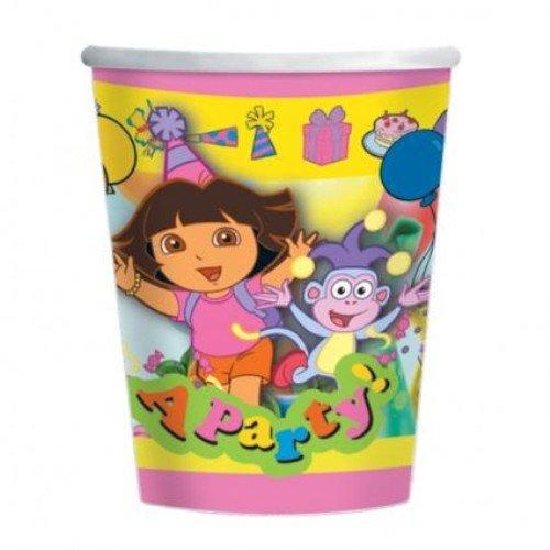 Dora The Explorer Party Becher (8 Stück)