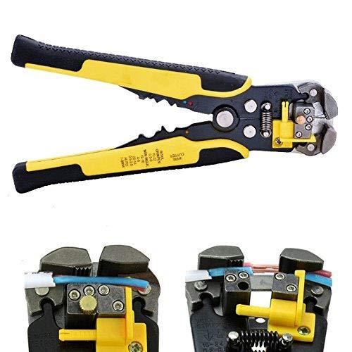 caxmtu Draht Strip-Cutter PROFESSIONAL Automatische Stripper-Crimper Zange Terminal Werkzeug - Batterie Terminal Crimper
