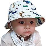 Tyidalin Sombrero de Sol para Niños Bebés Verano Algodón Ajustable Pescador Gorra...