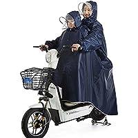 Poncho Batería De Coche Doble Madre Y Niño Impermeable Eléctrico Coche Aumentó Engrosamiento Motocicleta Adulto Padre