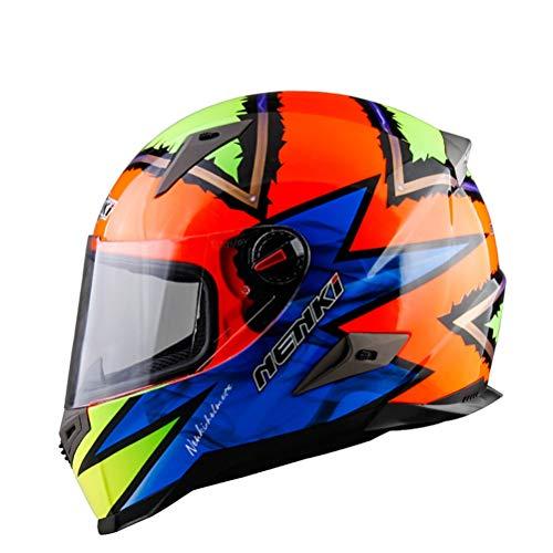 Männer Vollgesichts Motorradhelm Mesh Baumwollfutter Atmungsaktive Frauen Sicherheitskappen Anti Fog Suanproof Racing Motocross Helme 23 Optional Farben