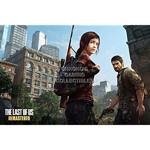 CGC enorme – Póster de The Last of Us Joel y Ellie PS3 PS4 – los017, papel, 36