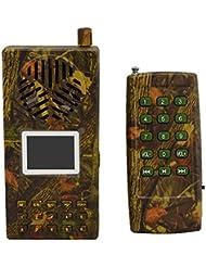 Chasse d'oiseau en plein air appelant le joueur MP3 d'oiseau de bruit de haut-parleur fort avec la commande à distance de camouflage sans fil Shell