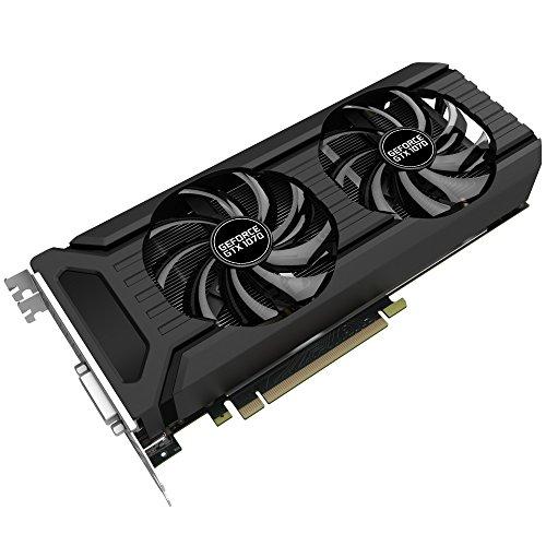 Palit NE51070015P2D GTX1070 Dual 8GB 4000 GeForce GTX 1070 Grafikkarte
