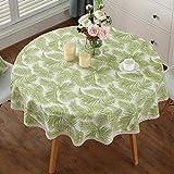 WXFC Tabelle Teppiche Moderne Runde Ribbon wasserdicht Einfache Tischdecken (Größe: 240cm) XXPP