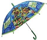 TMNT Teenage Mutant Ninja Turtles \'Xtreme\' Dome Bubble Umbrella Kids Travel Brolly