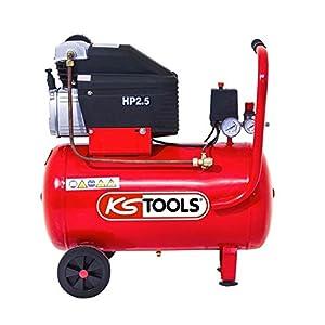KS Tools – Compresseur d'air – Compresseur d'air 50 litres – 8 bars – 2CV – 230V – KS Tools 165.0703 pas cher