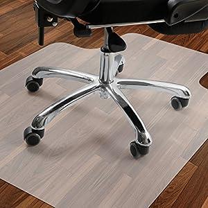 Antaprcis PE Bodenschutzmatte, Bodenschutz Bürostuhlunterlage Für Hartböden  Teppich, Rutschfeste Bodenmatte Schutzmatte Unterlegmatte Für Bürostuhl