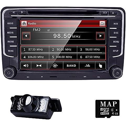 Autoradio rns510 navigatore stereo per golf 5 6 passat cc passat b6 b7 polo touran scirocco seat e skoda