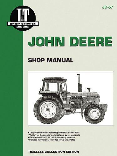 John Deere: I&t Shop Manual Models 4050, 4250, 4450, 4650, 4850