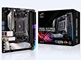 Asus ROG Strix X370-I Gaming Mainboard Sockel AM4 (Mini-ITX, AMD X370, 2x DDR4-Speicher mit 3600 MHz, Aura Sync, dual M.2, USB3.1, Wi-Fi 802.11)