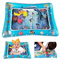 BOMPOW Baby Tummy Time Water Mat Infants Toddlers Perfect Fun time Play Mat for Baby Stimulation Growth Skill