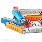 20x Abschmelzsicherung Set Auto KFZ Stäbchen-Sicherung 5- 25 A Sicherungsset Schmelzsicherung Feinsicherung Torpedosicherung Autosicherung