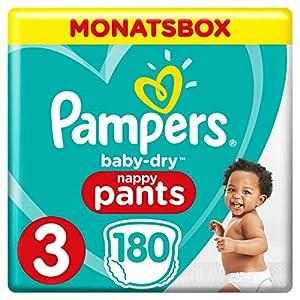 Pampers Baby-Dry Windeln, Monatsbox